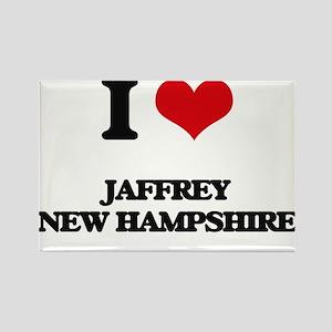 I love Jaffrey New Hampshire Magnets