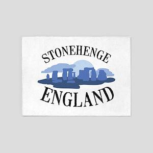 Stonehenge England 5'x7'Area Rug