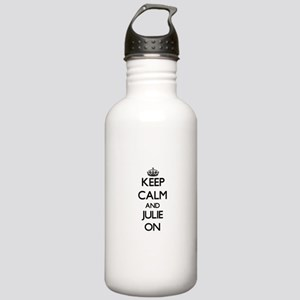 Keep Calm and Julie ON Stainless Water Bottle 1.0L
