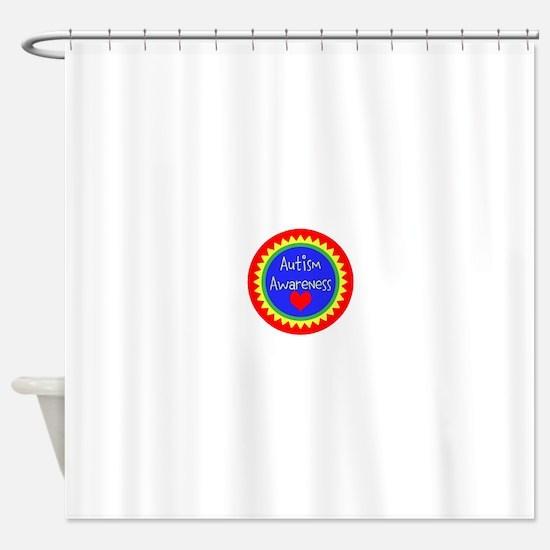 Autism Awareness Design Shower Curtain
