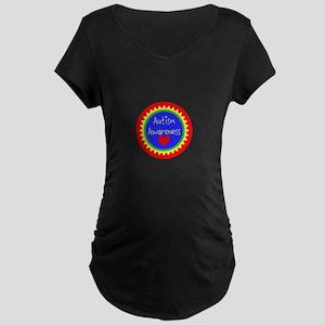 Autism Awareness Design Maternity T-Shirt