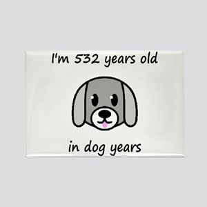 76 dog years 2 - 2 Magnets