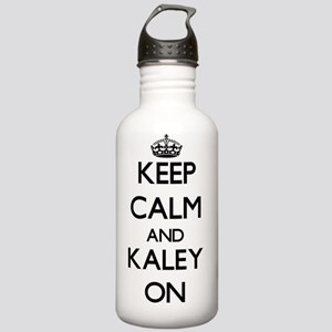 Keep Calm and Kaley ON Stainless Water Bottle 1.0L