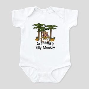 Grandma's Silly Monkey Boy Baby/Toddler Onesie