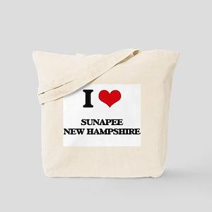 I love Sunapee New Hampshire Tote Bag