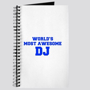 WORLD'S MOST AWESOME DJ-Fre blue 600 Journal