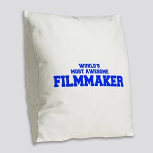 WORLD'S MOST AWESOME Filmmaker-Fre blue 600 Burlap