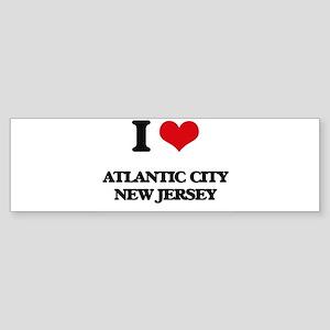 I love Atlantic City New Jersey Bumper Sticker