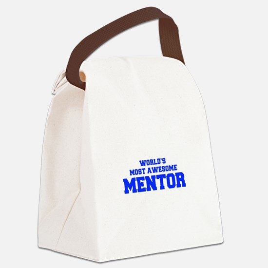 WORLD'S MOST AWESOME Mentor-Fre blue 600 Canvas Lu