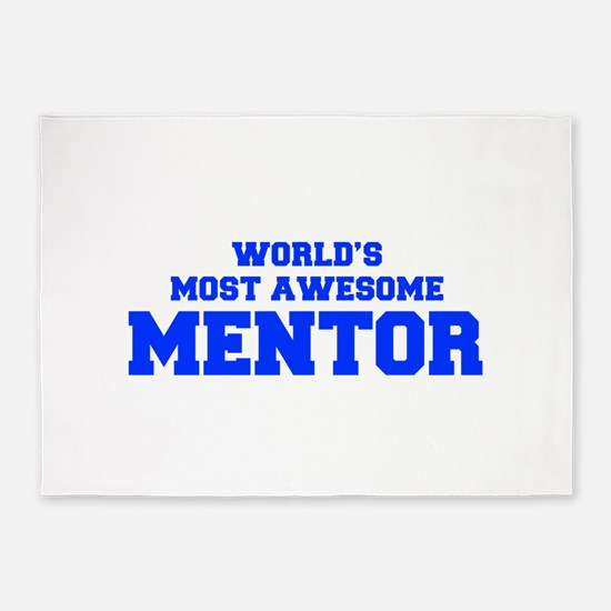 WORLD'S MOST AWESOME Mentor-Fre blue 600 5'x7'Area
