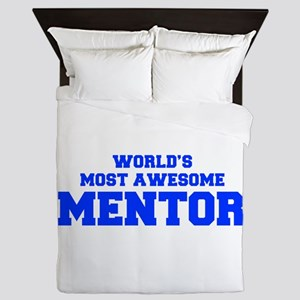 WORLD'S MOST AWESOME Mentor-Fre blue 600 Queen Duv