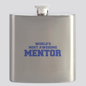 WORLD'S MOST AWESOME Mentor-Fre blue 600 Flask