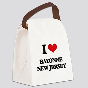 I love Bayonne New Jersey Canvas Lunch Bag