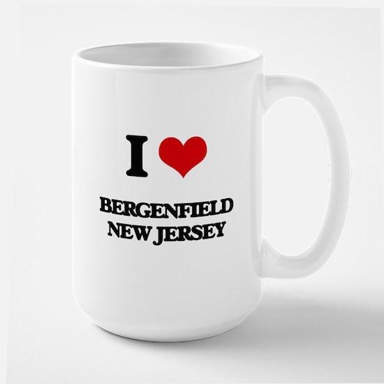 I love Bergenfield New Jersey Mugs