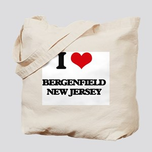 I love Bergenfield New Jersey Tote Bag