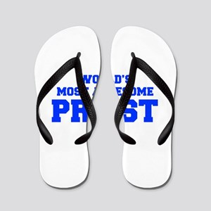 WORLD'S MOST AWESOME Priest-Fre blue 600 Flip Flop