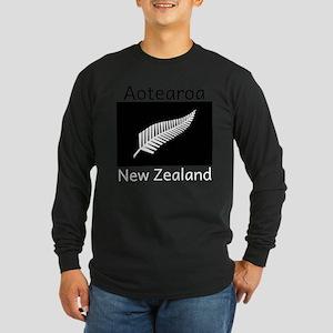 Aotearoa - New Zealand Long Sleeve T-Shirt