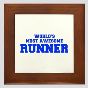 WORLD'S MOST AWESOME Runner-Fre blue 600 Framed Ti