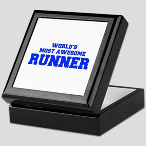 WORLD'S MOST AWESOME Runner-Fre blue 600 Keepsake