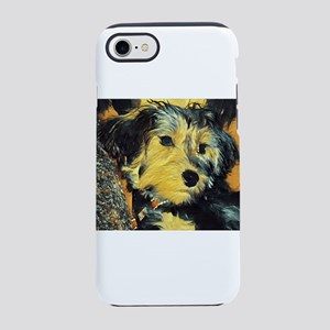 Penny the Yorkie iPhone 7 Tough Case