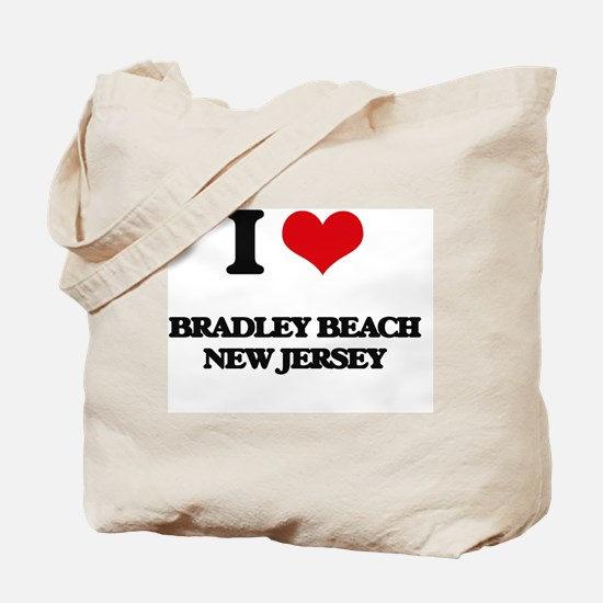 I love Bradley Beach New Jersey Tote Bag