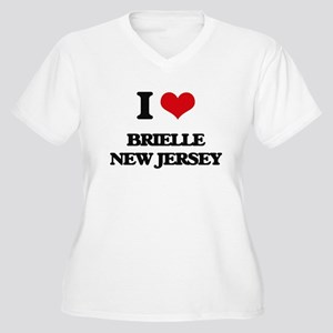 I love Brielle New Jersey Plus Size T-Shirt