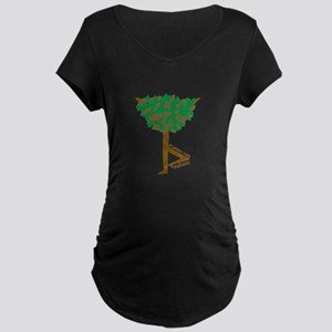 At Peace With Nature Maternity T-Shirt