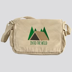 Into the Wild Messenger Bag