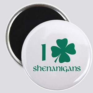 I Shamrock Shenanigans Magnet