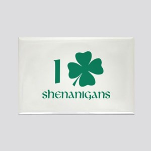 I Shamrock Shenanigans Rectangle Magnet