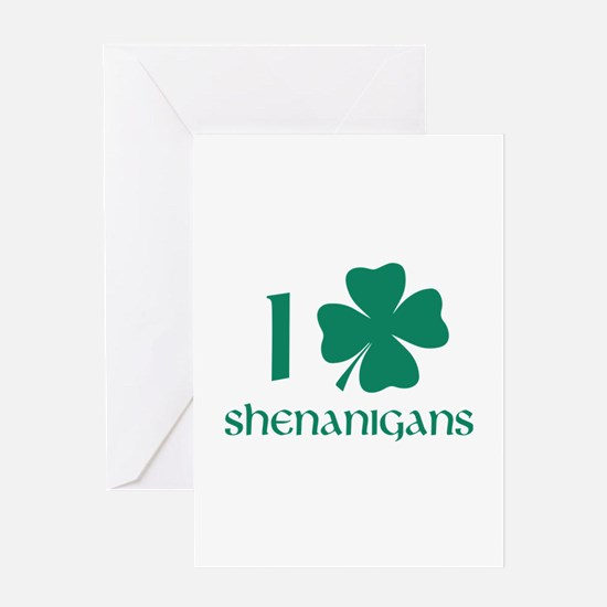 I Shamrock Shenanigans Stationery | Cards, Invitations, Greeting ...
