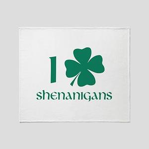 I Shamrock Shenanigans Stadium Blanket