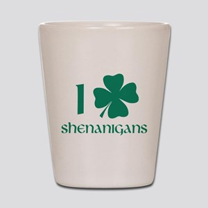 I Shamrock Shenanigans Shot Glass