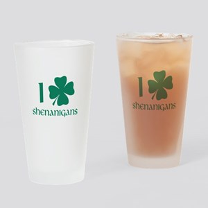 I Shamrock Shenanigans Drinking Glass