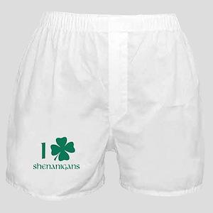 I Shamrock Shenanigans Boxer Shorts
