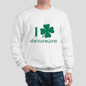I Shamrock Shenanigans Sweatshirt