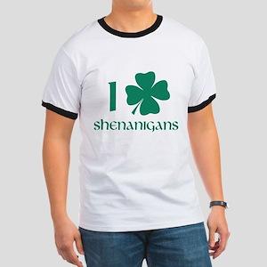 I Shamrock Shenanigans Ringer T