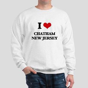 I love Chatham New Jersey Sweatshirt