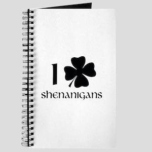 I Shamrock Shenanigans Journal