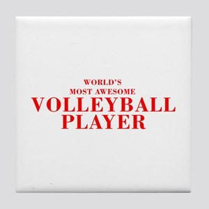 WORLD'S MOST AWESOME Volleyball Player-Bod red 350
