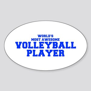 WORLD'S MOST AWESOME Volleyball Player-Fre blue 40