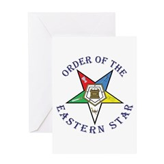 Order of the Eastern Star Lettered Greeting Card