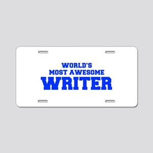 WORLD'S MOST AWESOME Writer-Fre blue 600 Aluminum
