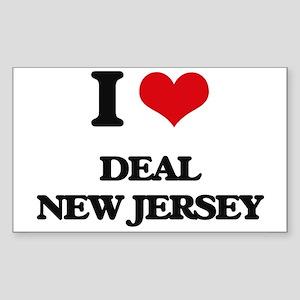 I love Deal New Jersey Sticker