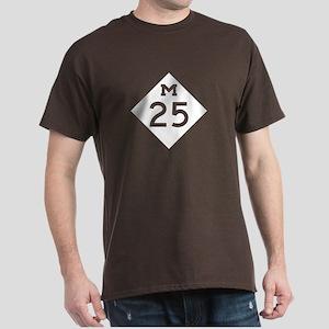 M-25, Michigan Dark T-Shirt
