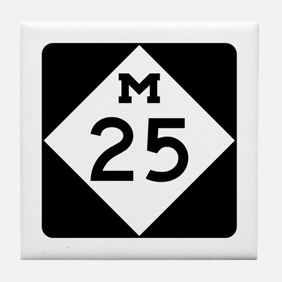 M-25, Michigan Tile Coaster