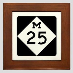 M-25, Michigan Framed Tile