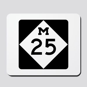M-25, Michigan Mousepad