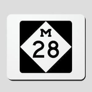 M-28, Michigan Mousepad