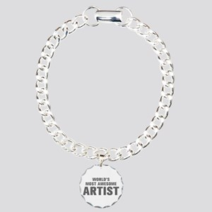 WORLDS MOST AWESOME Artist-Akz gray 500 Bracelet